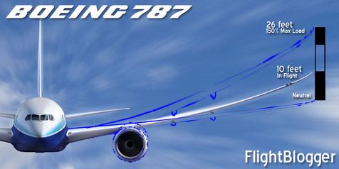 787 Flex Wing