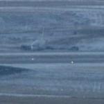 Boeing 737 da Continental sai da pista