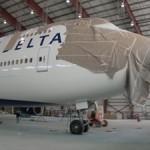 Primeiro 747 da Delta