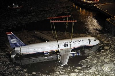 US Airways A320 Hudson RIver