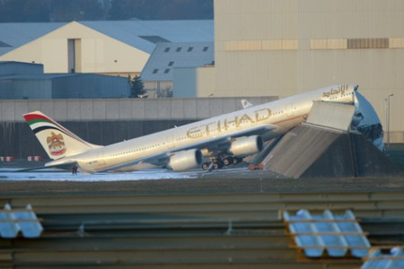 Lembram do acidente com o A340 da Etihad?