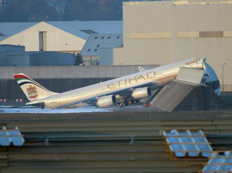 Etihad Acidente Airbus
