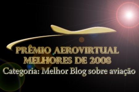 Prêmio Melhor Blog sobre Aviação em 2008