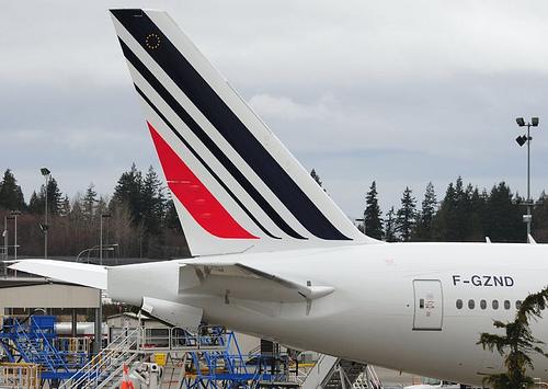 Air France nova pintura