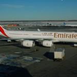 A340-500 da Emirates faz pouso de emergência