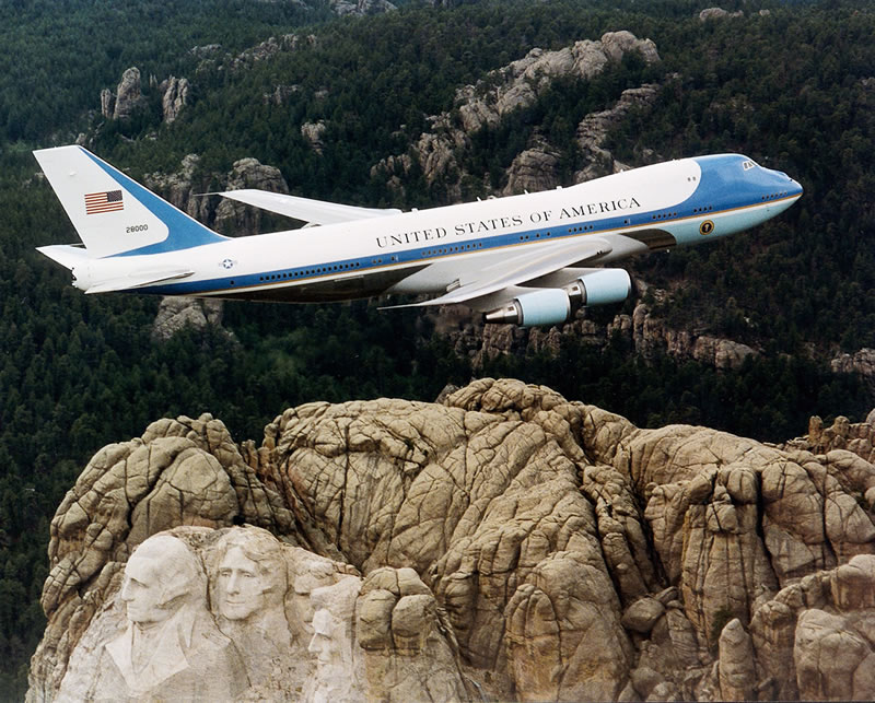 Air Force one 747-200