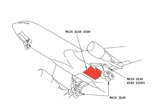 767 Gear Doors