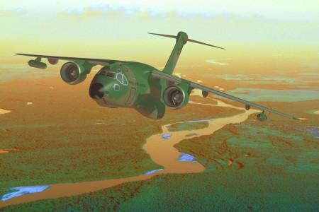 Conheça o Embraer KC 390