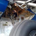 Clandestinos em aviões comerciais