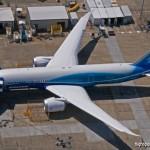 Boeing atrasa o primeiro voo do 787