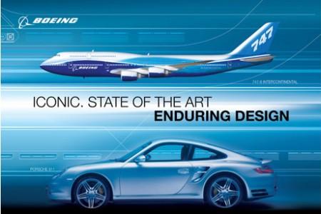 Bela (e verdadeira) campanha para o 747-800