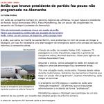 A imprensa não acerta quando o tema é aviação