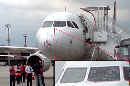 Tempestade pode derrubar um avião? E um CB?