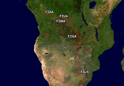 """As aventuras com o Electra na Africa – """"Causos"""" Parte 6"""