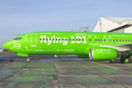 Uma Pintura de avião muito interessante!