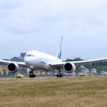Boeing 787 faz o seu primeiro voo transatlântico