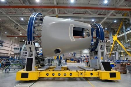 O primeiro Boeing 787 da United já está sendo montado \o/