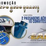 #EAB2011 Sorteando duas passagens aéreas da Azul e 10 convites vip