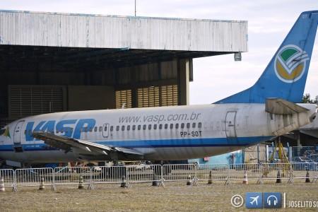 Aviões da VASP serão destruídos para vender como sucata