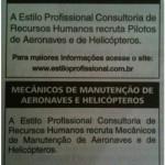 Vagas para mecânicos e pilotos – Recife, Brasília, Vitória