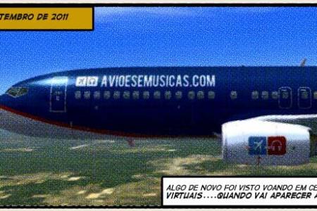 Cheiro de tinta em um hangar virtual #FSX #segredo