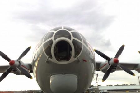 Antonov AN12 visitou Guarulhos no último dia 18