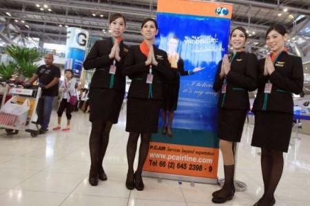 Transexuais admitidos como comissárias de bordo na Tailândia