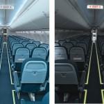 Por quê as luzes da cabine do avião são apagadas na hora da decolagem?