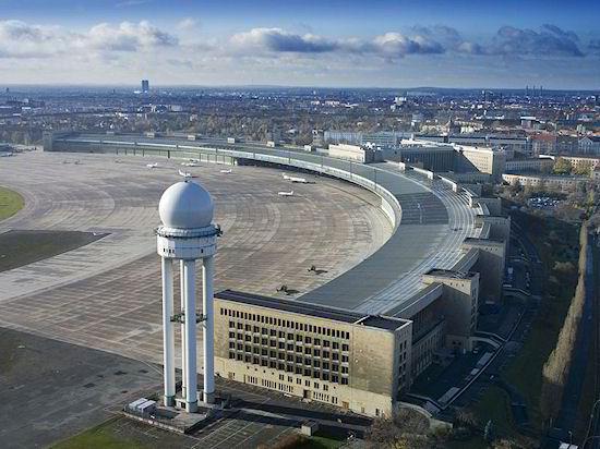 Terminal de Tempelhof - vista aérea