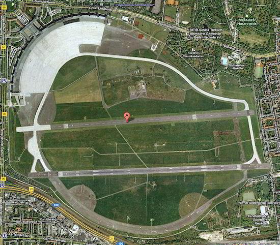 Aeroporto de Tempelhof, Berlim