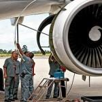 As primeiras semanas de um mecânico em uma empresa aérea comercial