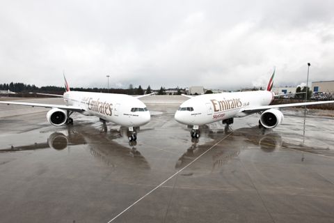 2 777 da Emirates
