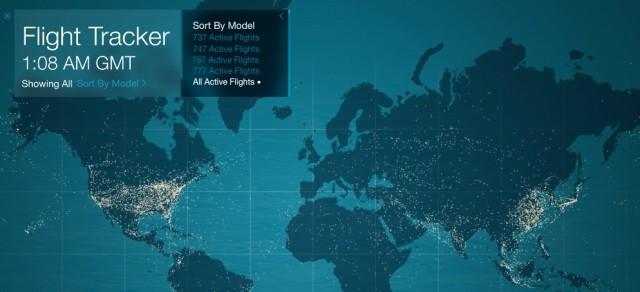Boeing Flight Tracker