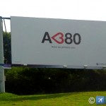 O gigante está chegando – Airbus A <380 vai passar de novo pelo Brasil a caminho da FIDAE