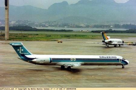 MD-80 No Brasil, nas cores da Cruzeiro – Mad Dog
