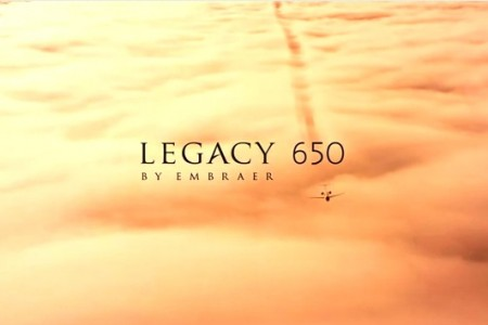 Legacy 650 do Jackie Chan, belo #vídeo da Embraer