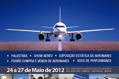 Expo Aero Brasil 2012, 24 a 27 de Maio em São José dos Campos
