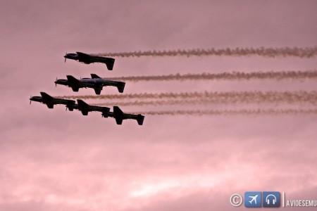 Fim de semana aéreo – EDA 60 anos – A aviação tem o poder de reunir amigos @fumaca_ja