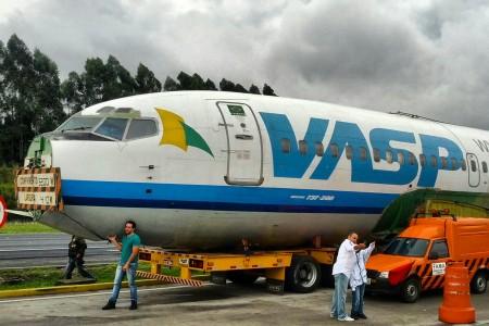 737-200 em sua última viagem