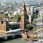"""Um Boeing 777 """"rodando"""" pelas ruas de Londres #video"""