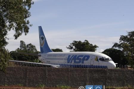 Lembram do 737 da Vasp, o PP-SFI que estava em cima de uma carreta?