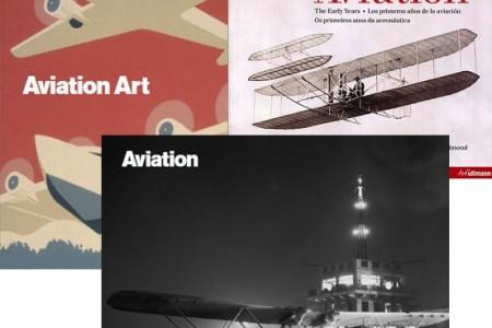 Livros de aviões da Taschen com desconto na Coquelux