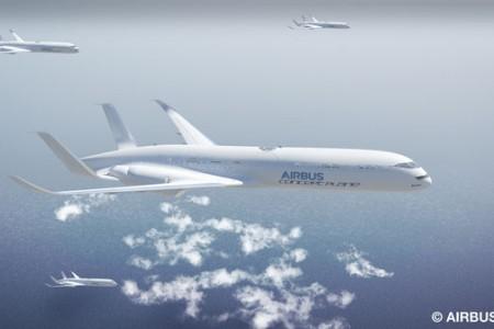 Em 2050 os aviões serão assim, de acordo com a @Airbus