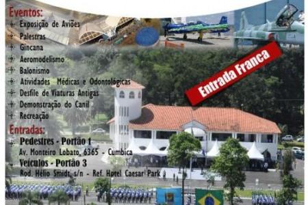 Portões abertos hoje na Base Aérea de São Paulo – BASP – neste sábado.