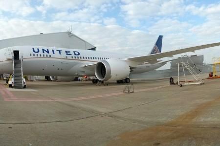 787 em Houston, testes e mais testes