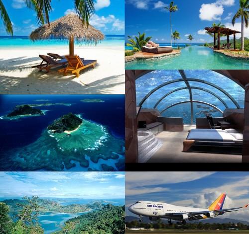 Cenas das Ilhas Fiji