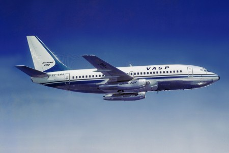 PP-SMA, Boeing 737-200 pioneiro na VASP
