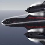 Foto espetacular do SR-71