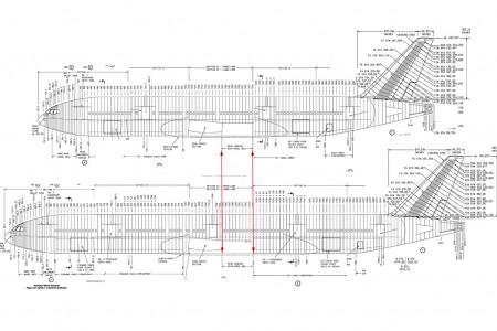 Diferença de tamanho entre o Boeing 777-200 e o 777-300 #Perguntas