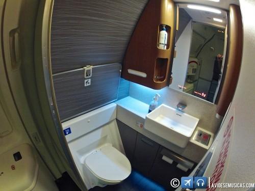 Banheiro primeira classe
